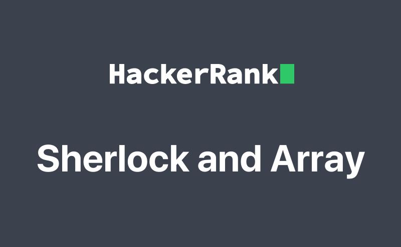 sn-sherlock-and-array